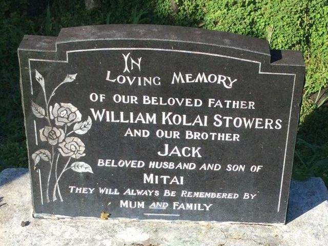 STOWERS, William Edward Tolai  and son Jack